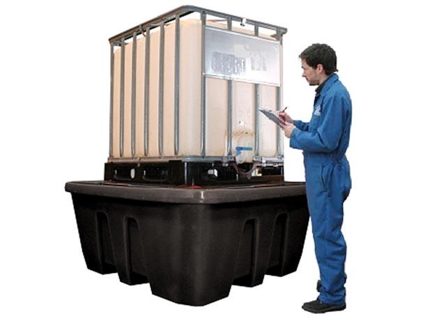 IBC Bunds   Plastic And Steel IBC Bunds   Safety Storage Ireland